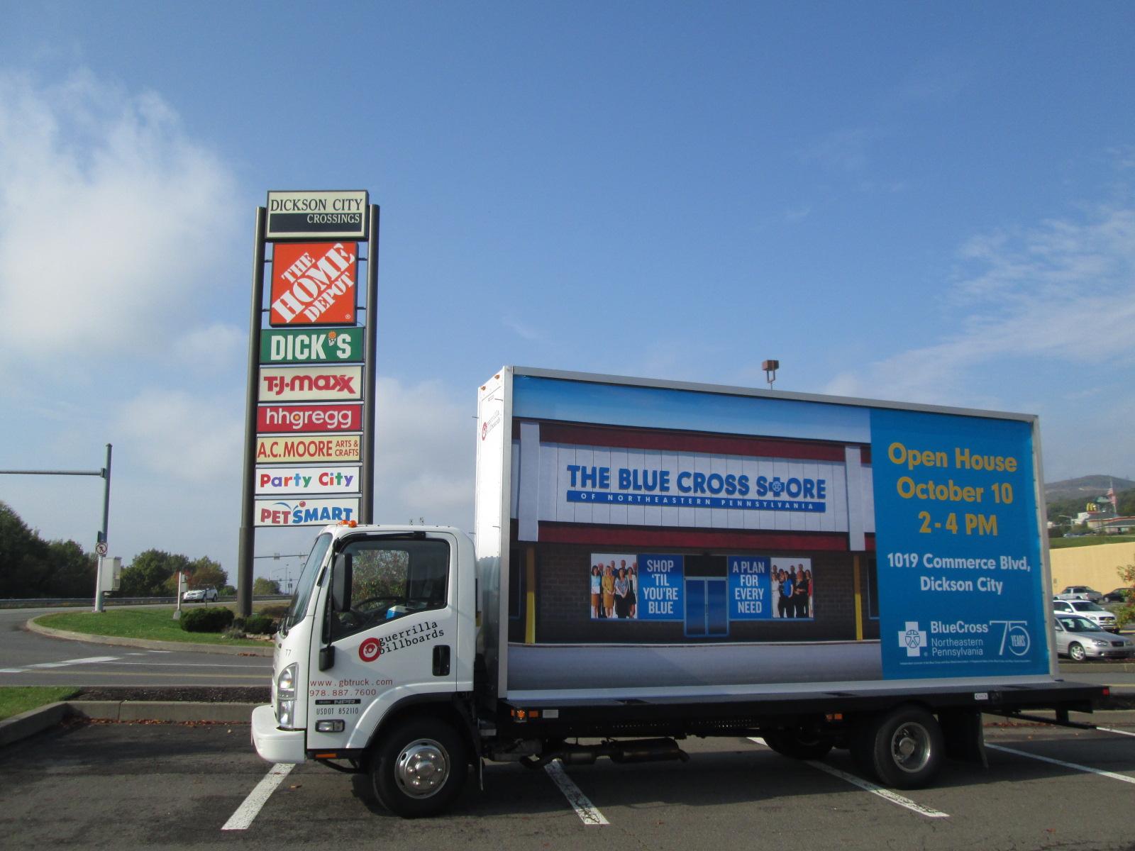 Blue Cross Store Ad - Dickson City Pa
