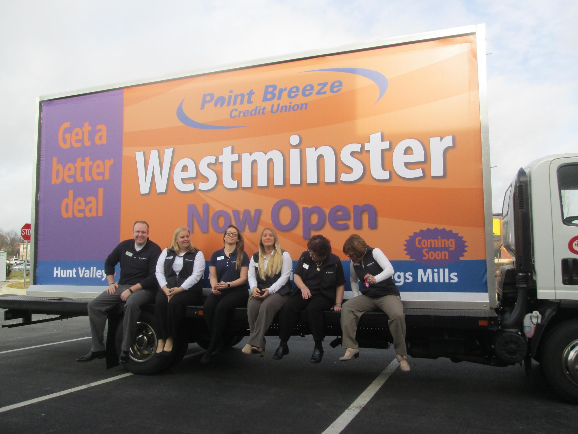Point Breeze credit Union - Westminster Grand Opening