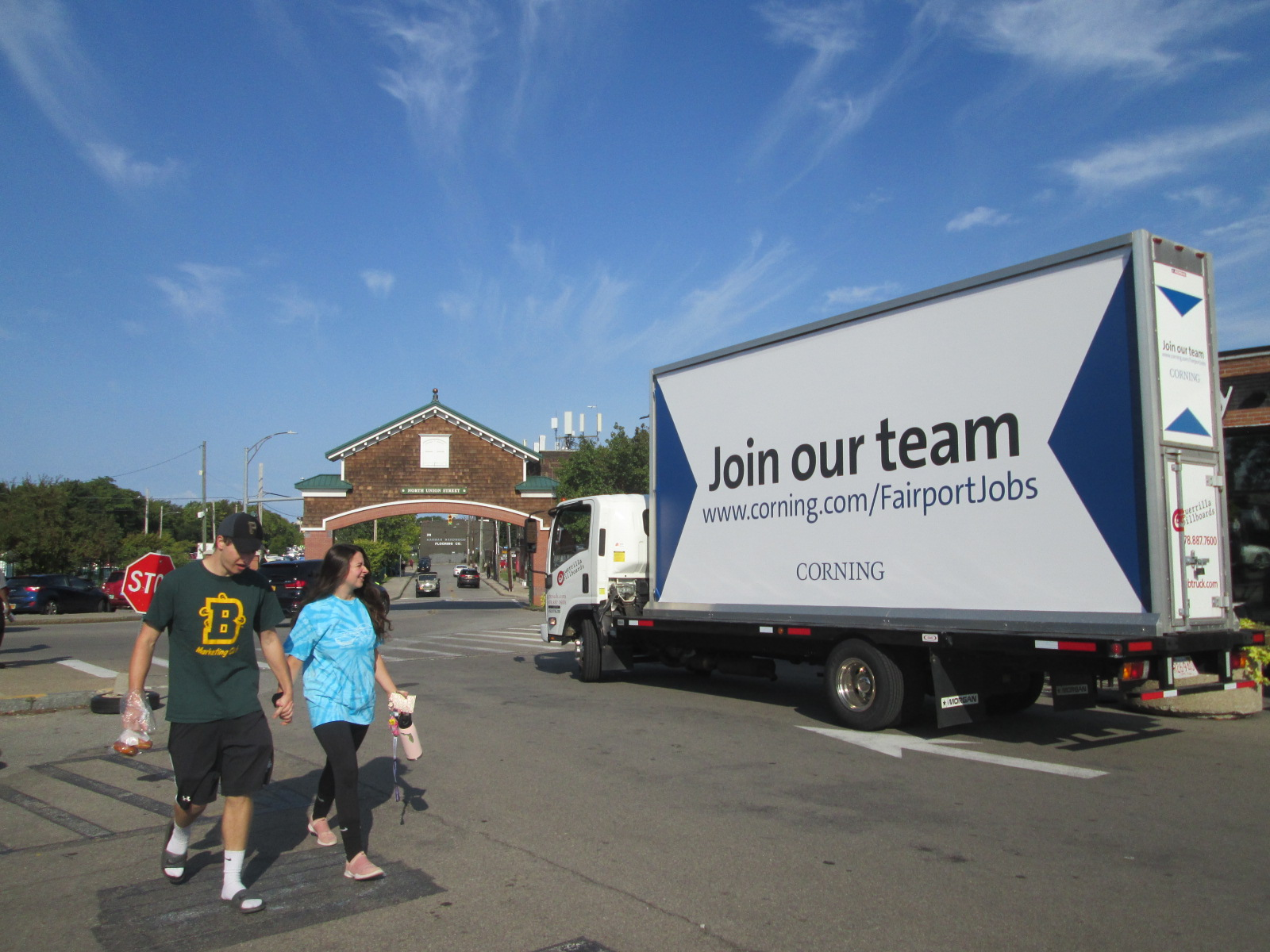 Join Our Team Mobile Billboard at the Rochester Public Market