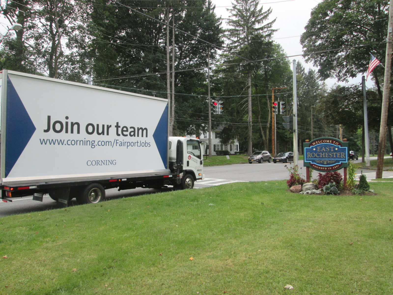 Talent Acquisition Mobile Billboard in East Rochester NY