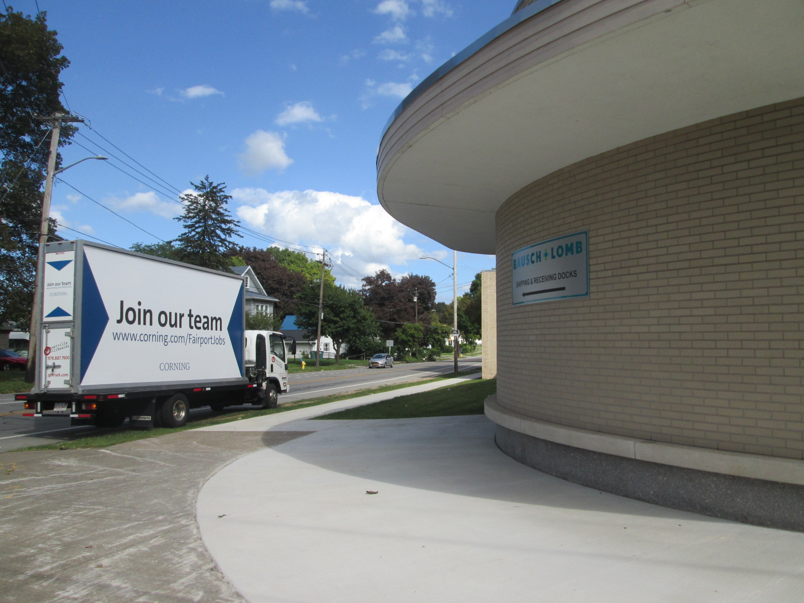 Join Our Team Mobile Billboard at Bausch & Lomb