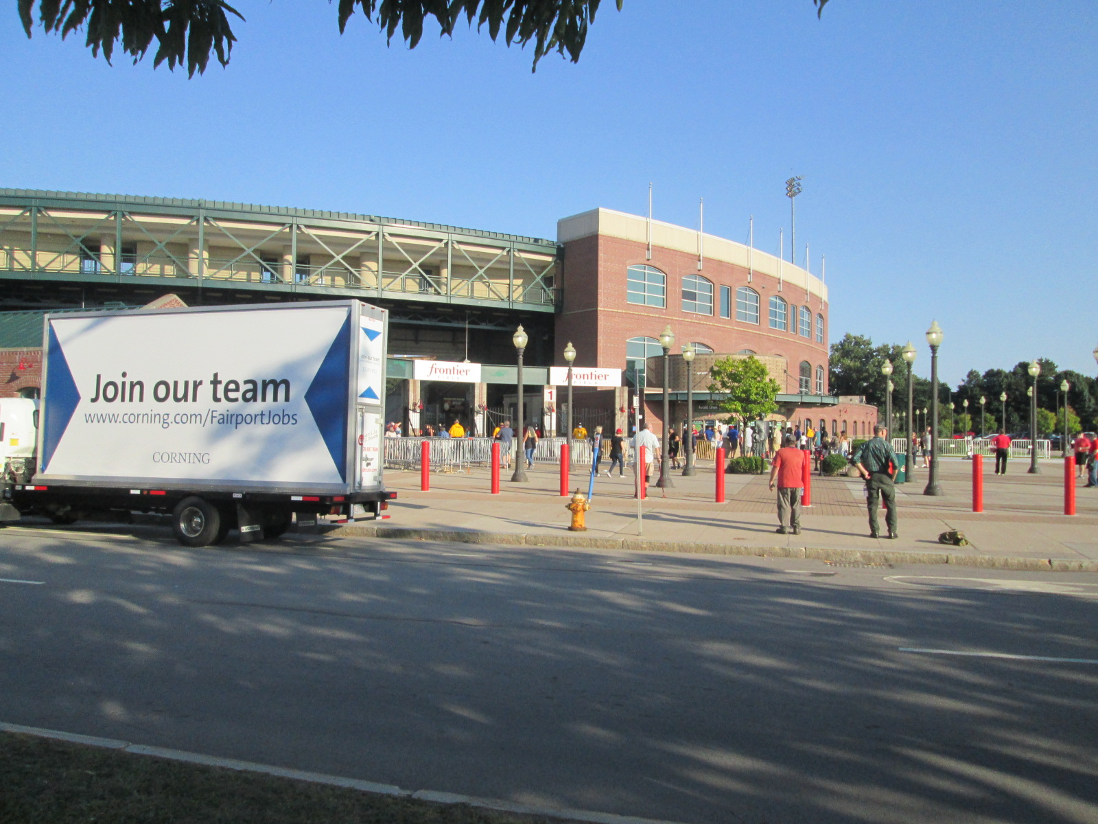 Join Our Team Mobile Billboard at Frontier Field in Rochester NY.